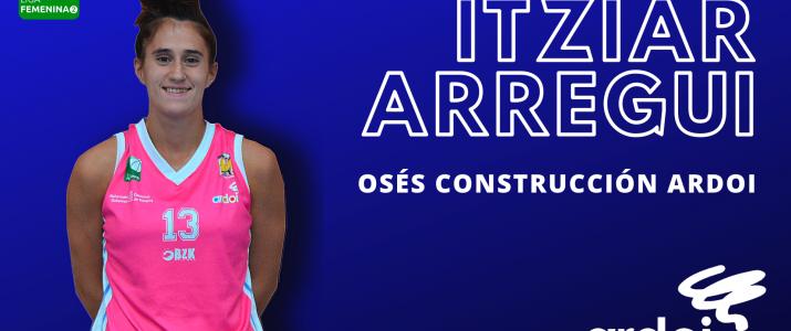 LF2 | ITZIAR ARREGUI RENUEVA CON OSÉS CONSTRUCCIÓN ARDOI