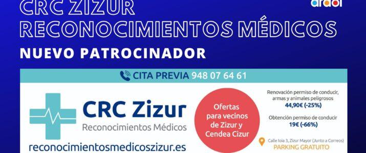 ¡TENEMOS NUEVO PATROCINADOR: CRC ZIZUR!