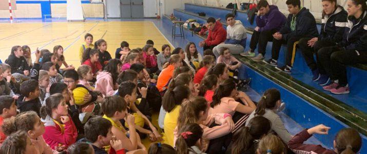VISITA AL CLUB BALONCESTO ONCINEDA Y SESIONES DE ENTRENAMIENTO